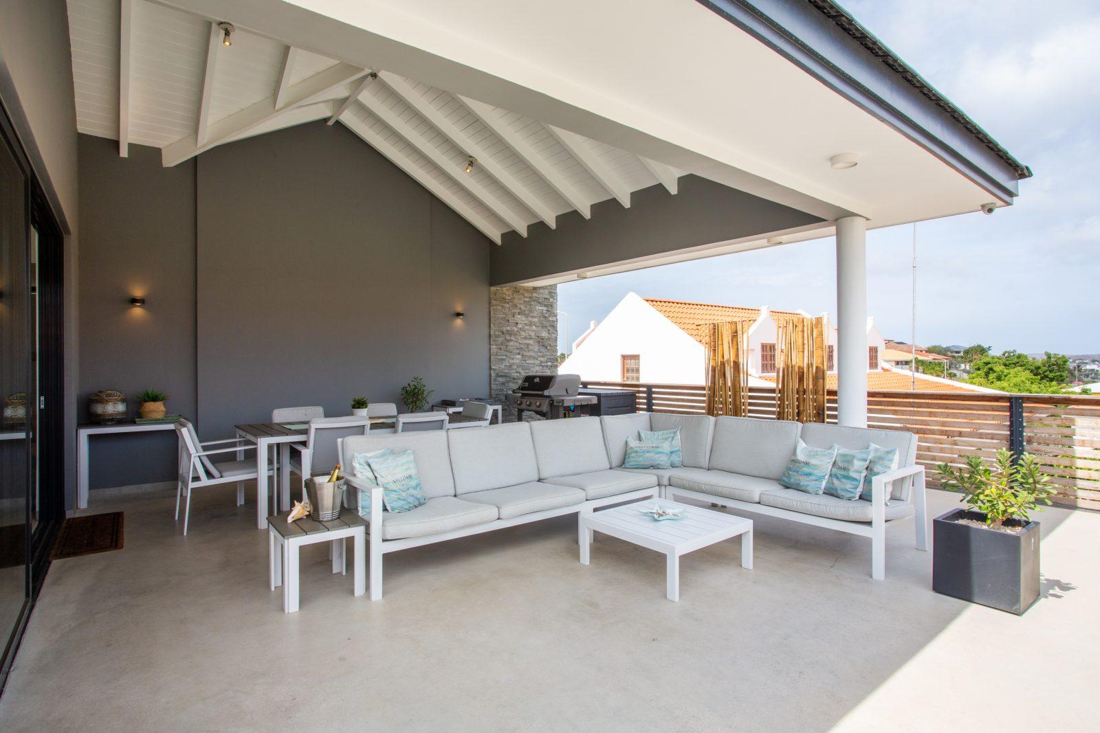 Overdekte veranda La Royal